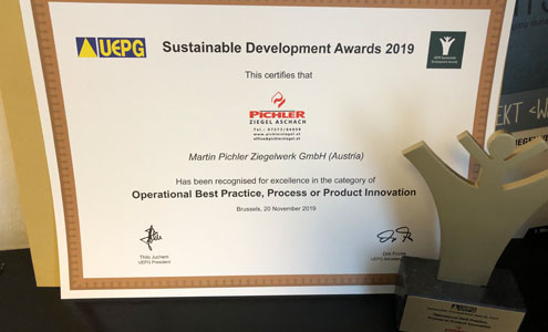 Sustainable Developement Award 2019